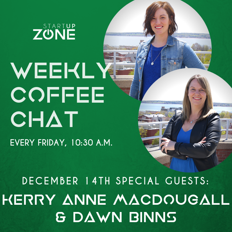 Weekly Coffee Chats at Startup Zone