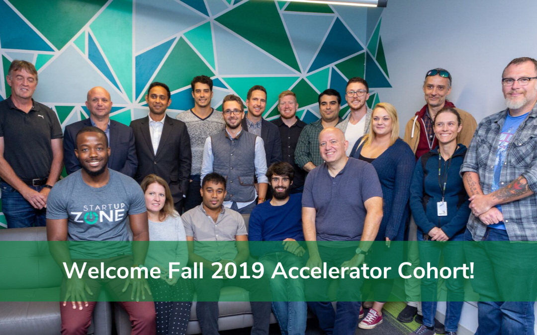 Welcome Fall 2019 Accelerator Cohort!