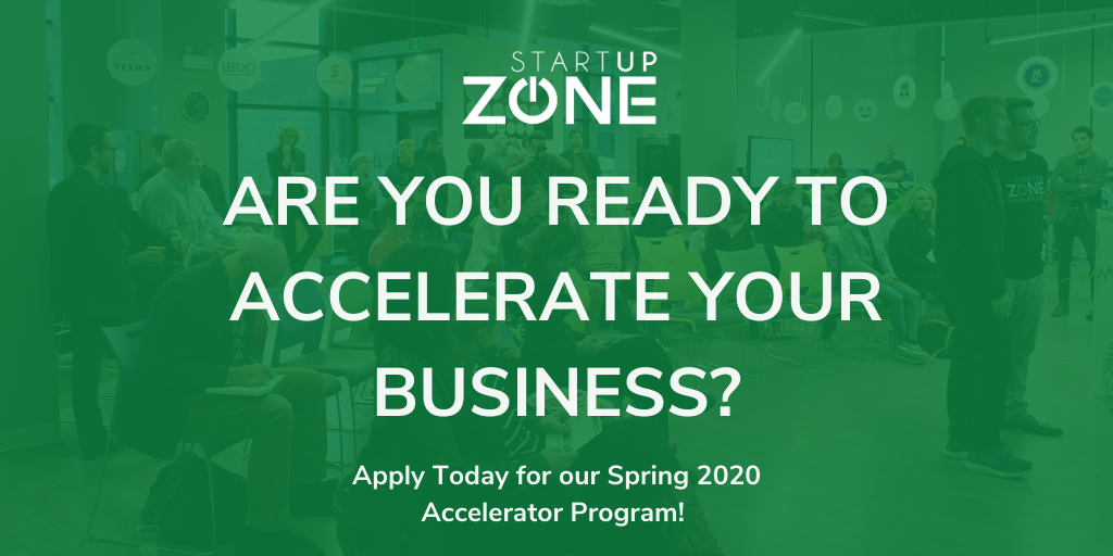 Join our Spring 2020 Accelerator Cohort!